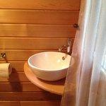 Salle de bains de la roulotte