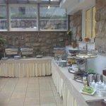 stanza colazione parte buffet