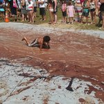 Chocolate Slip and Slide