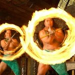 The thrilling Samoan fire knife dance