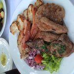 Grilled meat platter - huge and yummy!!