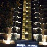 Dorsett Hotel..front entrance