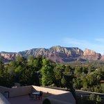 Best Western Plus Inn of Sedona -- view from terrace