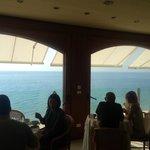 La panoramica sala da pranzo