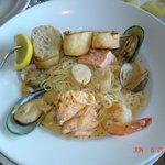 Seafood Pastalaya ($22).  Excellent!