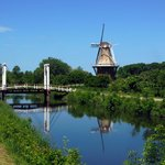 Holland Windmill Island Bridge