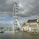 The Eye at the Thames River
