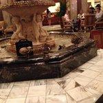 Ducks in the Peabody Hotel Lobby Fountain