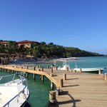 Infinity Bay's own dock