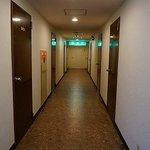 昔風の廊下