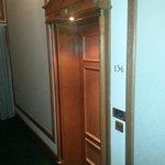 """""""Historic"""" Room 136 Cool door to room"""