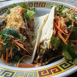 Asian Taco ... a special for today. Delicious!!!