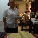 Sotiroula the Owner and waiter