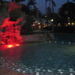 pool at night... color changes