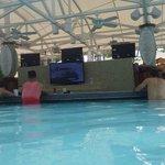 Bar in the pool