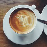 My mouthwatering latte