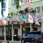 Front of Hotel - Indigo Restaurant