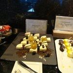 Gold Lounge Dessert time