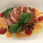 Duck Breast with Wild Rice