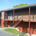 Lodge room at Skyland Resort