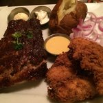 Ribs & southern style Chicken Tenders