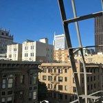 Tip of Transamerica Building