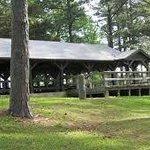 Campground pavilion