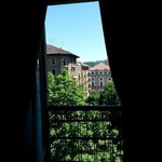 Vista do quarto (para a Corso Re Umberto)