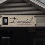 Front Sign of Daniel Restaurant on Hilton Head Island