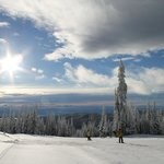 Top of Sundance Mountain at Sun Peaks