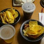 Tortilla chips on offer at the 5.30 Kickback dinner