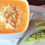 Locro de papas (potato soup) - very rich