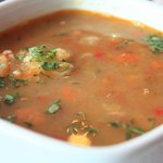 Sancocho quiteno (beef soup)