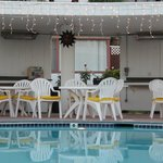 Gazebo by the Pool.