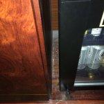 Inside cabinet mold