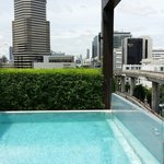 Overlooking from pool side, Siam Discovery Centre & MBK!