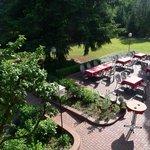 Hotel Ramster - Sicht aus dem Zimmer
