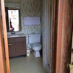 Bathroom - in detached room