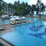 Le Meridien, lovely pool