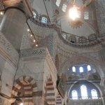 Убранство Голубой мечети внутри помещения