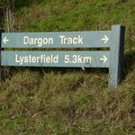 Start of the Dargon track