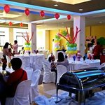 1st birthday celebration at our function hall