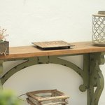 Patio deco shelf