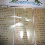 Hotel Map Legend