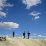 Blue sky in Cappadocia