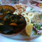 piatto unico di pesce