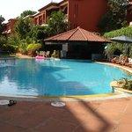 Swimming Pool with the Aqua Bar