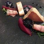Duck foie gras.