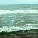 view from ocean facing dream room
