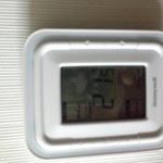 Simple easy to use thermostat